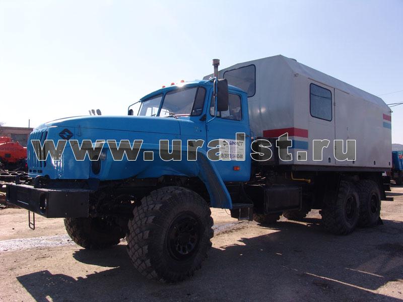 ППУА 1600/100 на шасси Урал