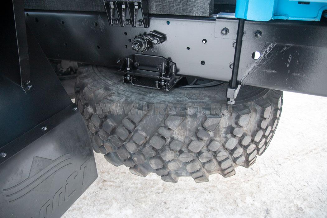 Фургон оборудован розетками