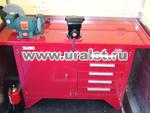 ПАРМ Урал 4320 с бортовой площадкой и КМУ ИМ-55