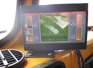 Панель приборов управления шнекоротором