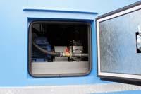 Люк для быстрого доступа к насосному агрегату