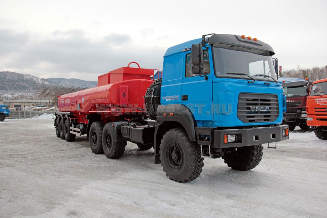 16 Седельный тягач Урал