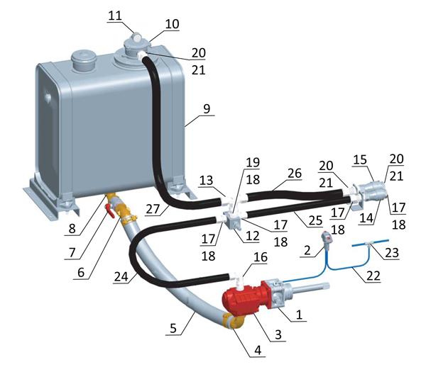 схема гидрофикации