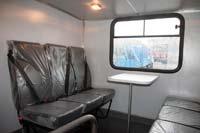 Трехместные пассажирские сиденья