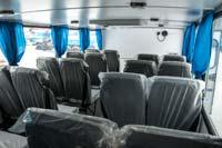 Салон вахтового автобуса Камаз