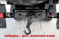 Задняя механическая лебедка (доп. комплектация)