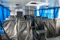 Салон вахтового автобуса Урал-4320-NEXT